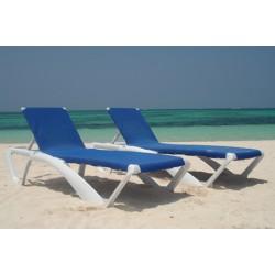 Tumbona playa MARINA , lote de 25 unidades