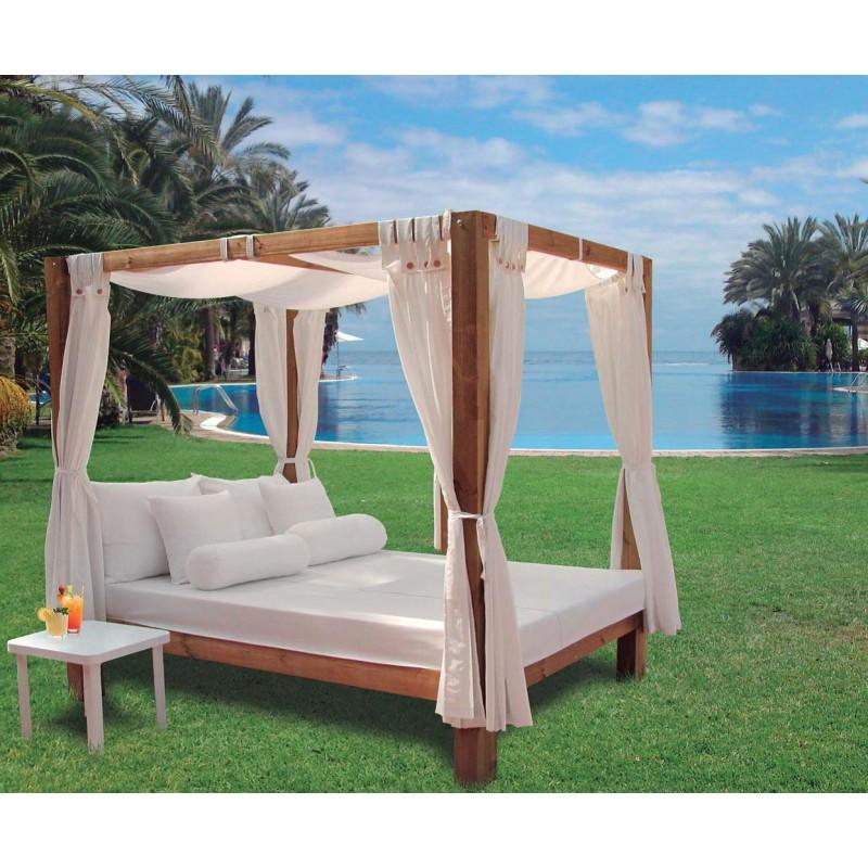comprar cama balinesa chill out. Black Bedroom Furniture Sets. Home Design Ideas
