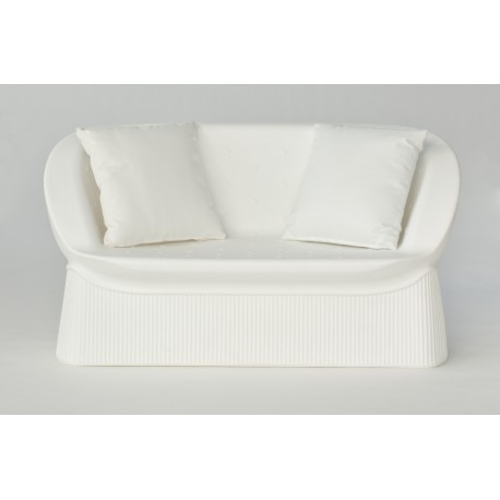 SOFA MENORCA COLOR BLANCO CHILL OUT