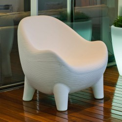 SILLON ARUBA CHILL OUT COLOR BLANCO
