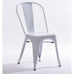 Silla TOLIX replica color blanco