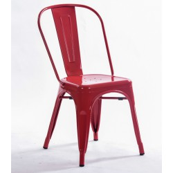 Silla TOLIX color rojo