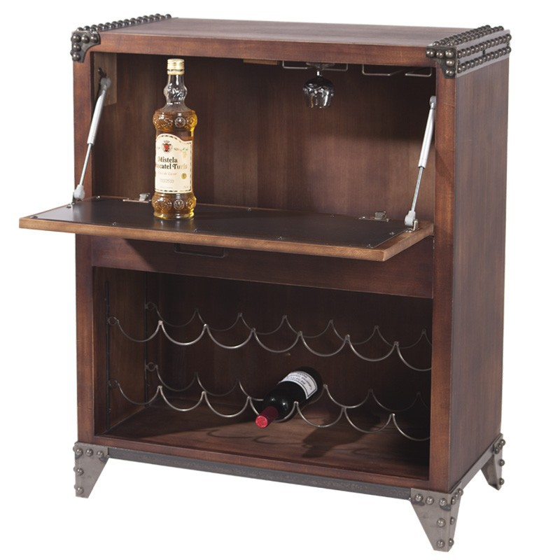 Comprar mueble aparador botellero vermor vintage for Mueble vintage industrial