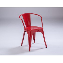 Sillon TOLIX color rojo