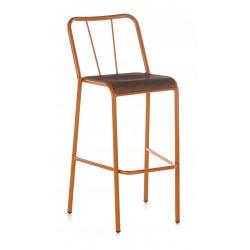 Taburete DOTS asiento madera