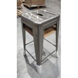 Taburete TOLIX metalizado
