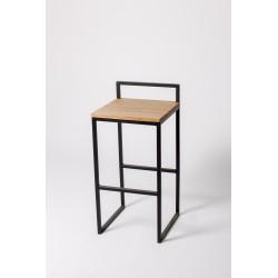 Taburete PARIS asiento madera