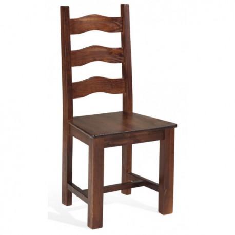 Silla IVAN asiento madera
