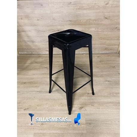Taburete TOLIX replica color negro