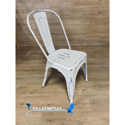 Silla TOLIX blanco antique