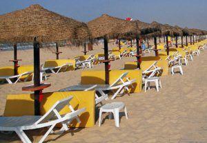 Tumbonas de playa