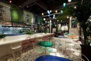 restaurante multiespacio