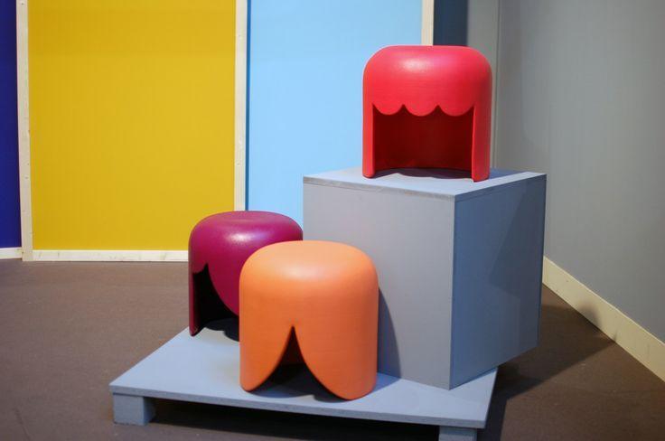 Los tres taburetes inspirados en Playmobil