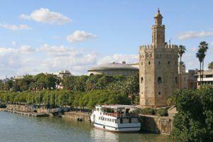 Torre de oro, en Sevilla
