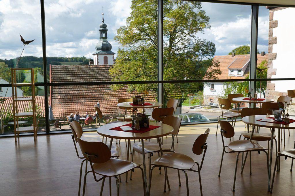 Cafetería de estilo nórdico