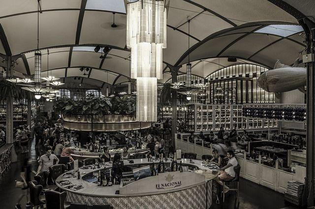 Restaurante El Nacional en Barcelona