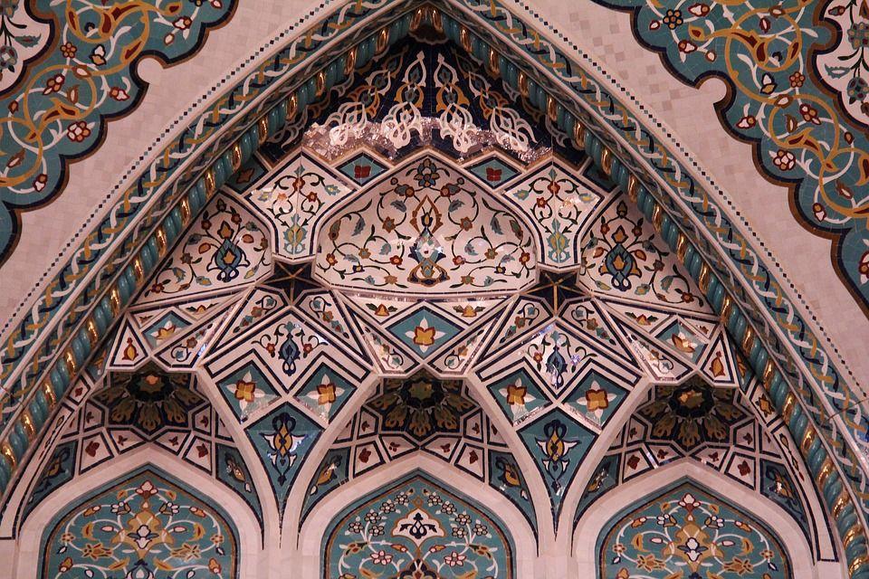 Típico mosaico árabe