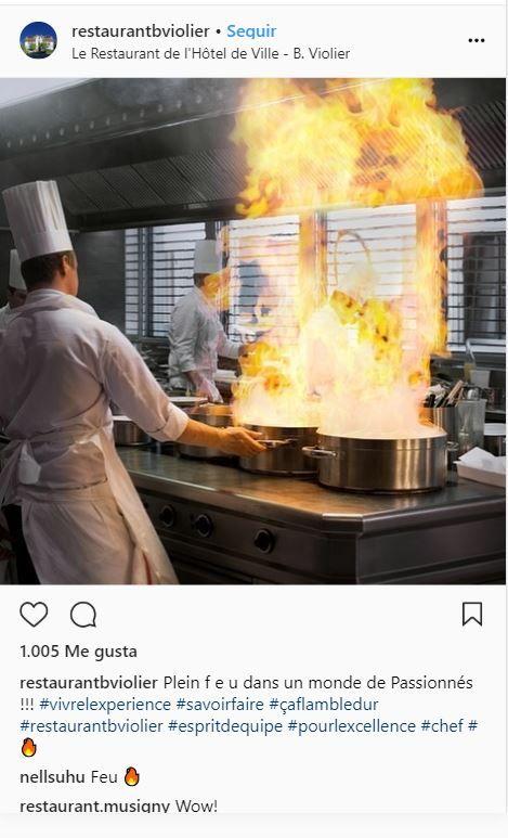 Restaurante Hotel de Ville, Suiza