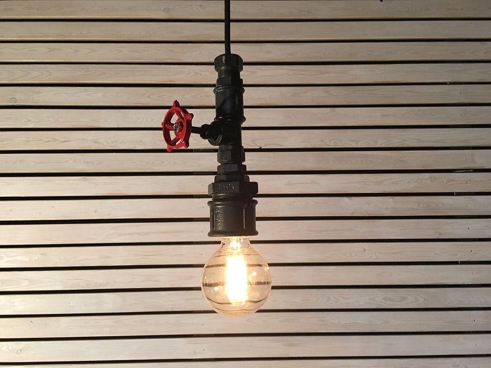 Iluminación de estilo industrial
