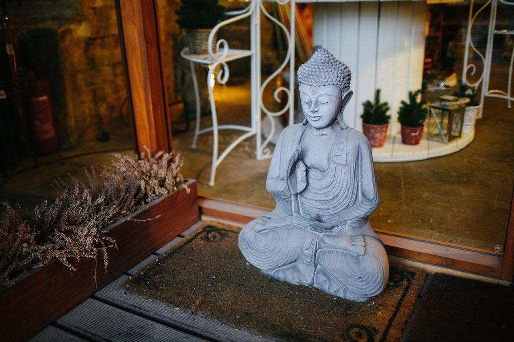 Mobiliario de estilo zen