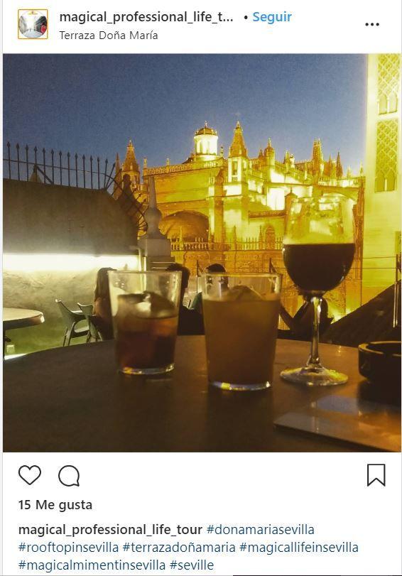 Terraza Doña María en Sevilla