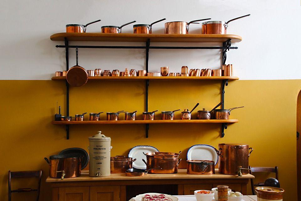 Uso de estanterías como elemento de decoración