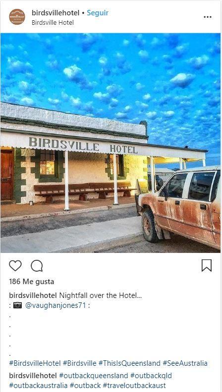 Birdsville Hotel, Desierto de Simpson, Australia