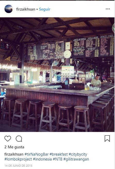 Tir Na Nog Bar, Gili Trawangan, Lombok