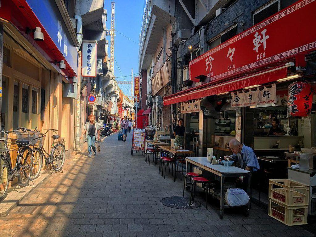 Restaurantes japoneses en Tokio. Foto de David Esteban de viajarpor.asia