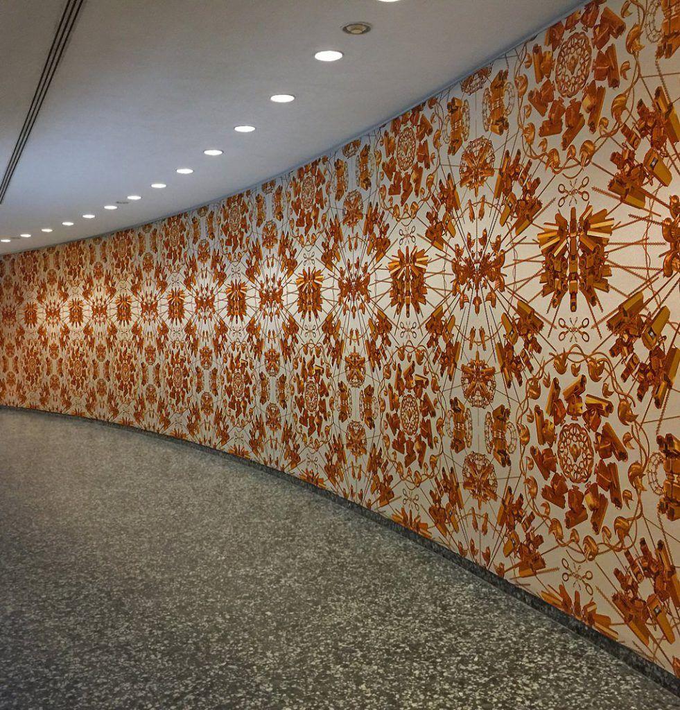 Instalacion de Papel Pintado en pared