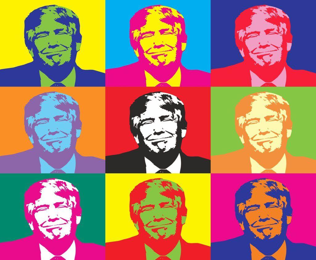 Trump para bares con estilo pop