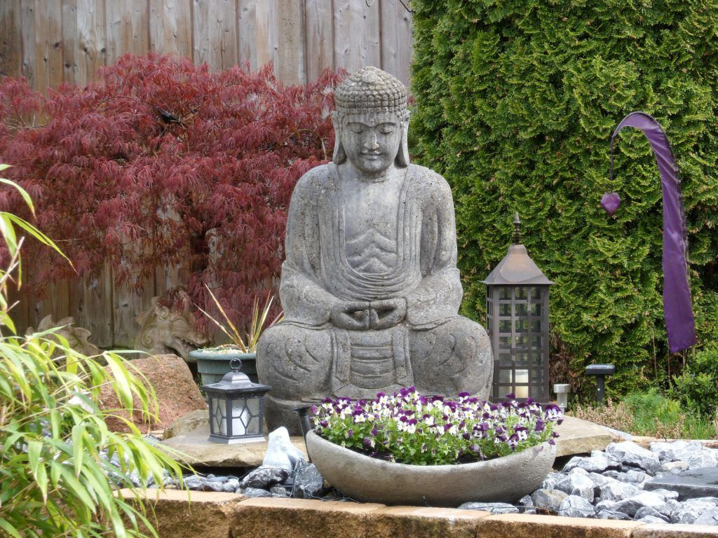 Buda es una de las grandes referencias en el estilo zen