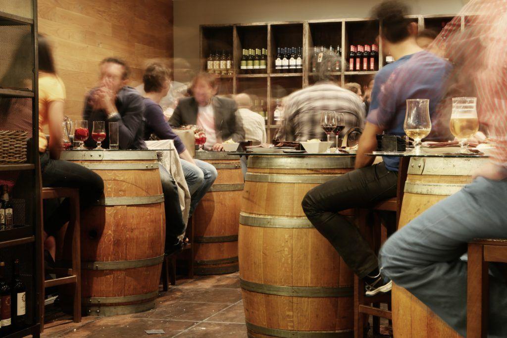 Pubs con estilo rústico