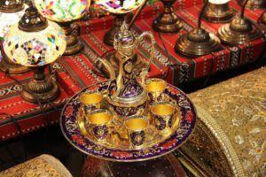 Terrazas de estilo árabe