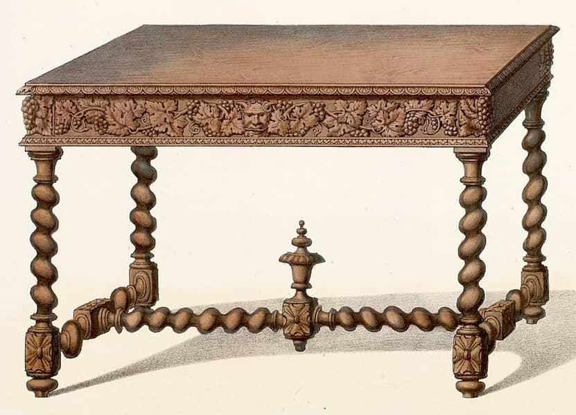 Mobiliario estilo barroco modelo Masa época Luix XIII