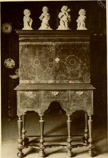 Mobiliario estilo barroco modelo colonial británico francés