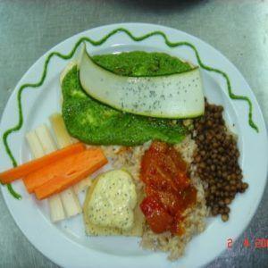 El estragón vegetariano