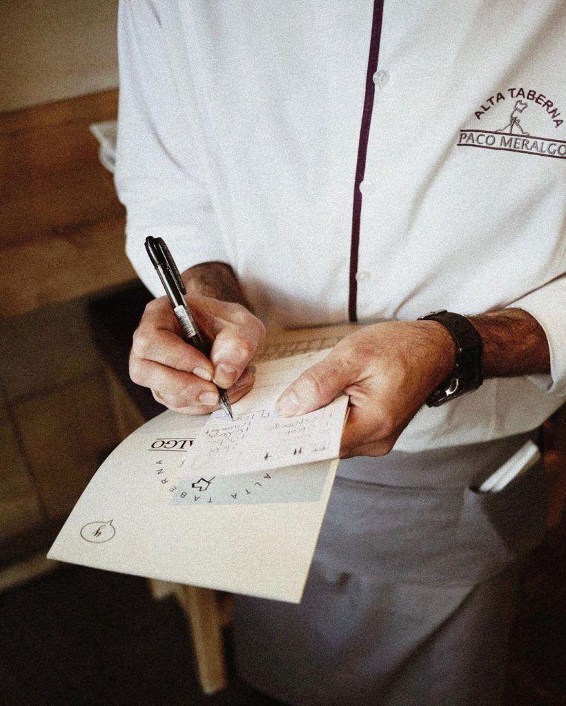 Paco Meralgo naming original para restaurantes