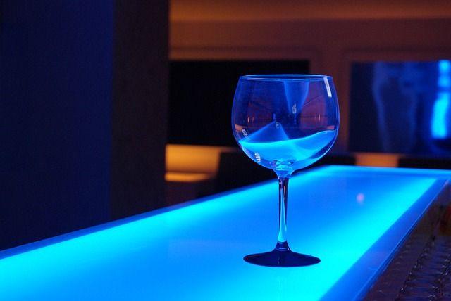 copa en barra led