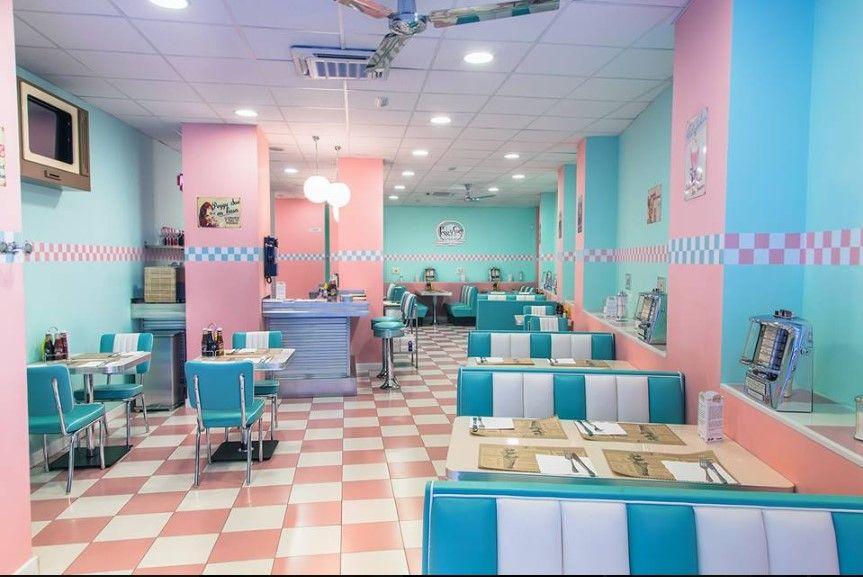 Restaurante estilo americano Peggy Sues