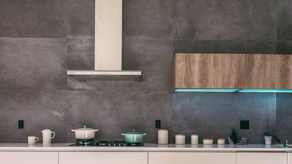 decoración cocina restaurante minimalista
