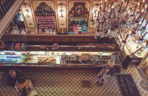 Decoración pastelerías vintage