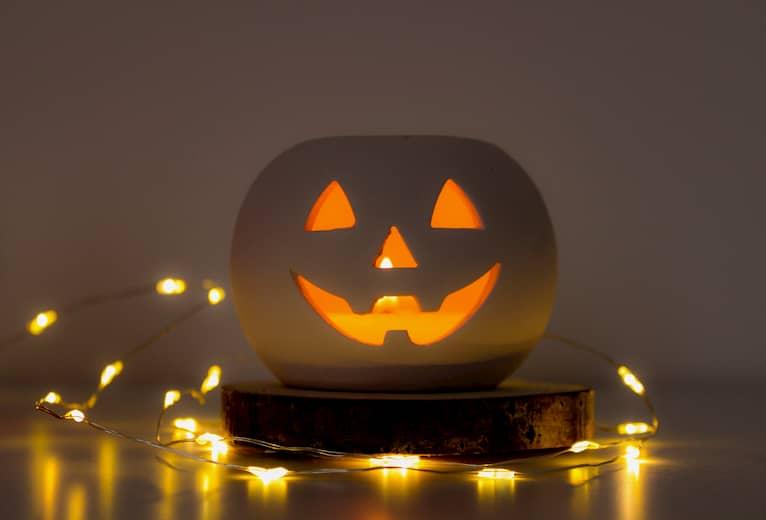 decoración restaurante halloween