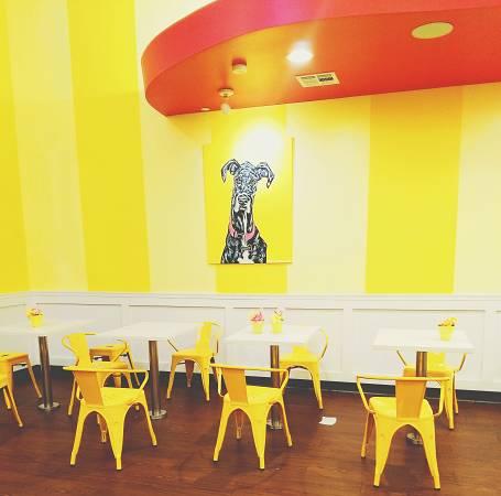 color amarillo para pintar un restaurante
