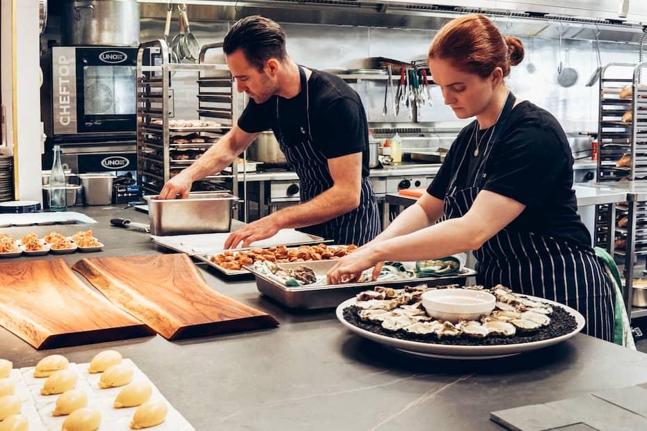 Coordinación del personal de una cocina