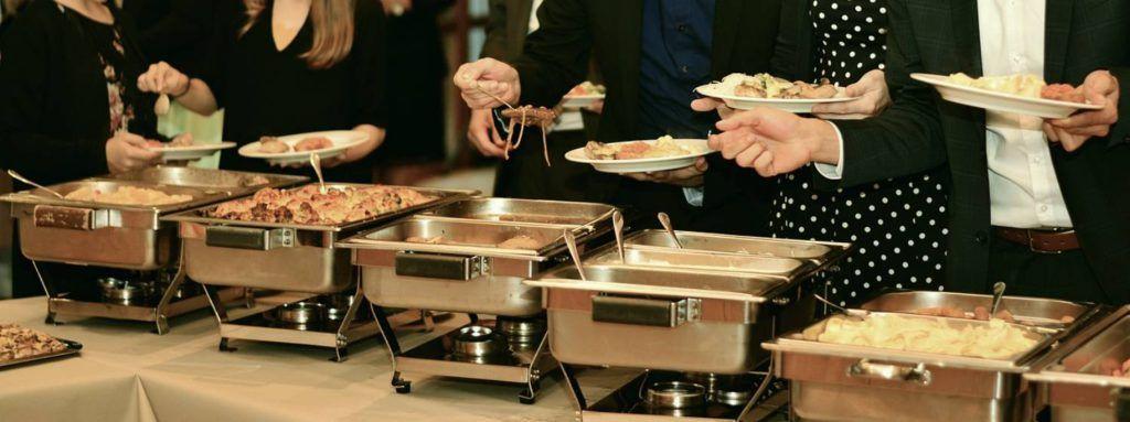 Planificación de un buffet de hotel