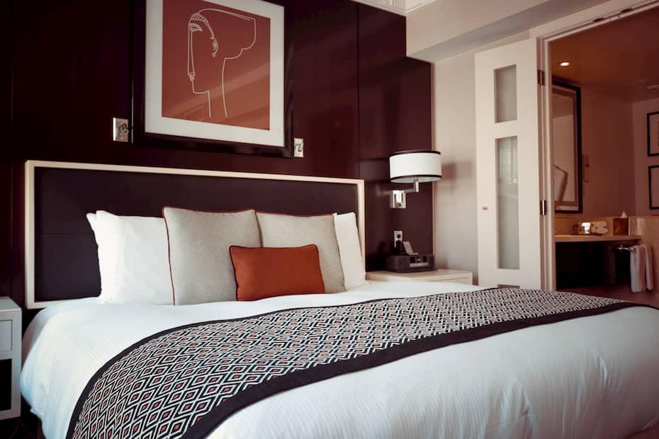 Decoración de habitaciones en hoteles