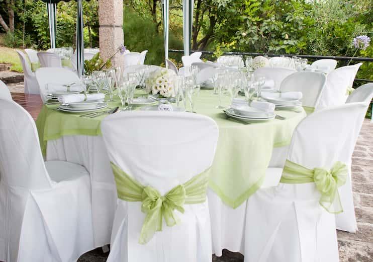 Sillas de boda decoradas con estilo clásico
