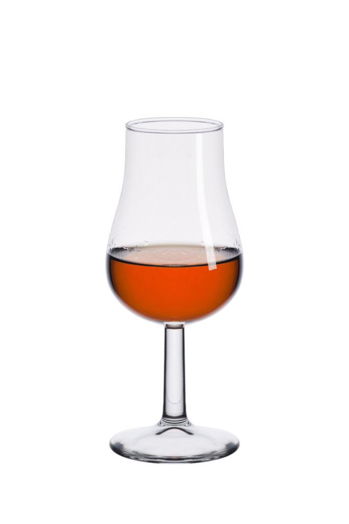 Copa de vino dulce - Tipos de copas