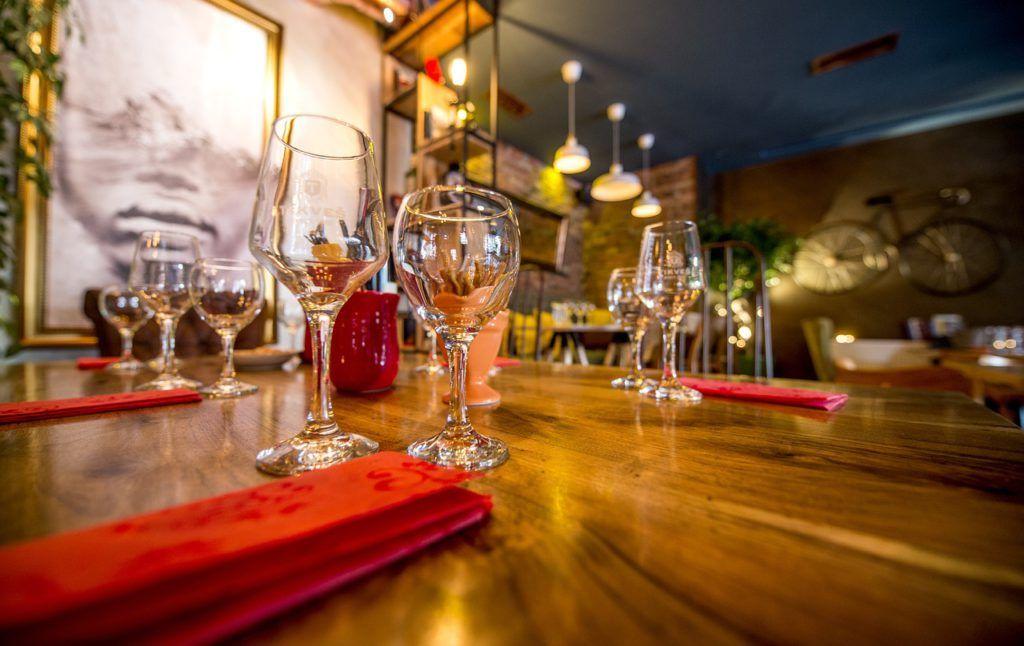 Tipos de copas para bares o restaurantes